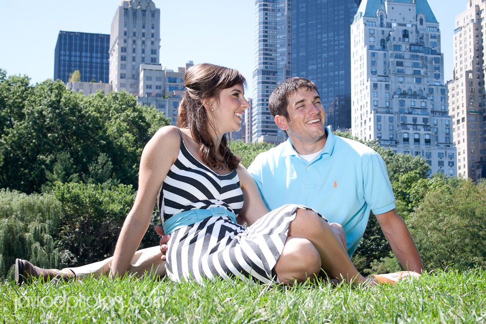 Central Park Engagement Shoot - Jay Rodriguez