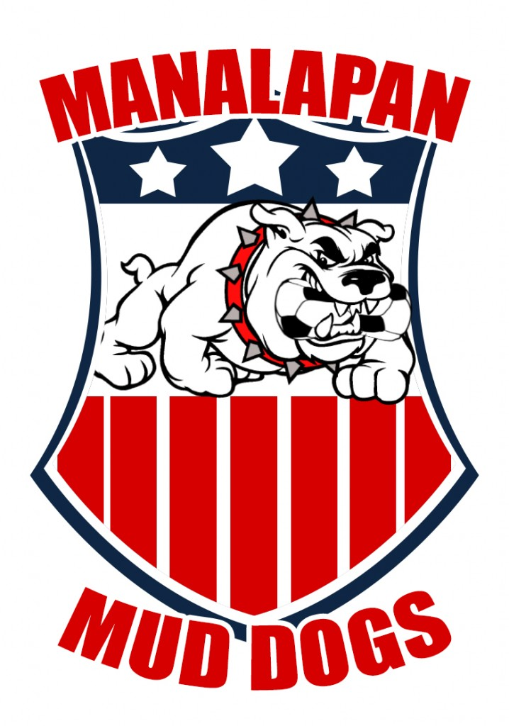 Manalapan Mud Dogs Vector NEW