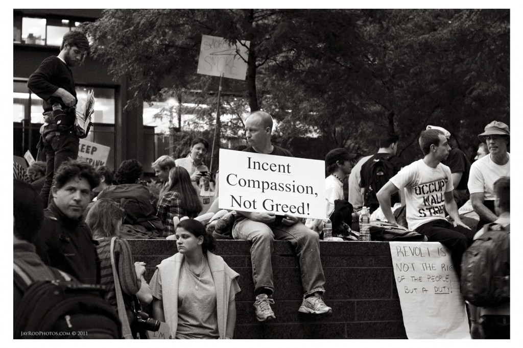 Occupy Wall Street - #OWS - By Jay Rodriguez