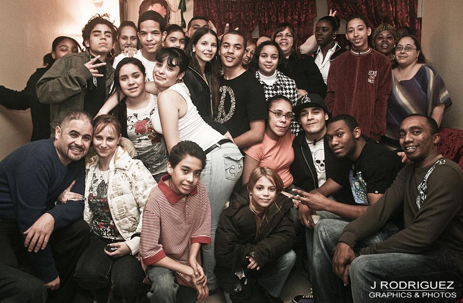 Brooklyn, NY Family Group Shot - By Jay Rodriguez