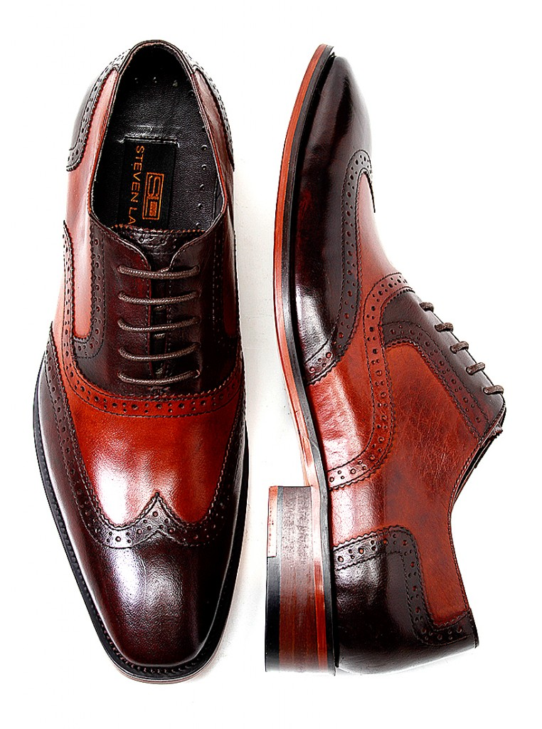SL Wingtip Shoes - Steven Land