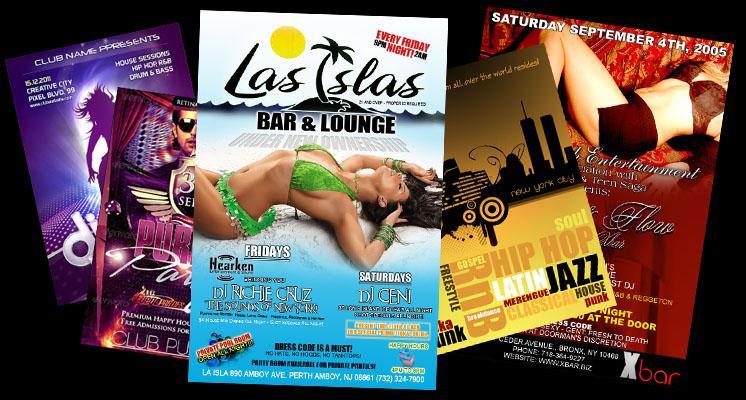 Graphic Designs - Club Flyer Designs - Hip Hop Mixtape cover Designs - Promotional Material